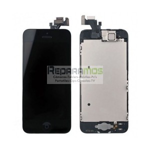 Pantalla completa retina Display original para iPhone 5 en color negro ORIGINAL