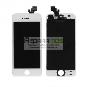 Pantalla completa retina Display original para iPhone 5 en color blanco ORIGINAL