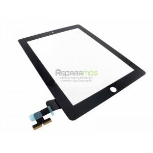 Apple iPad 2 Wifi, Wifi + 3G pantalla digitalizadora negra, ventana tactil cubre display