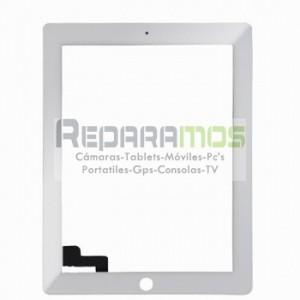 Apple iPad 2 Wifi, Wifi + 3G pantalla digitalizadora blanca, ventana tactil cubre display