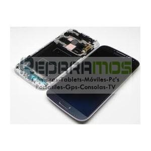 Pantalla completa (Digitalizador, pantalla tactil + display LCD) negra para Samsung Galaxy S4