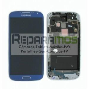 Pantalla completa (Digitalizador, pantalla tactil + display LCD) blanca para Samsung Galaxy S4
