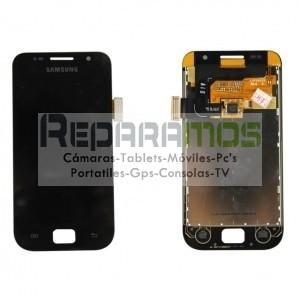 Pantalla completa (Digitalizador, pantalla tactil + display LCD) rojo para Samsung Galaxy S4