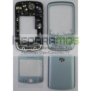 CARCASA NEGRA BLACKBERRY 8520