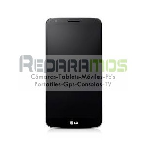 Pantalla completa con Marco Original LG Optimus G2 negra