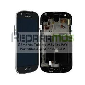 Pantalla digitalizadora negra con display de Samsung Galaxy S3, SIII i9305