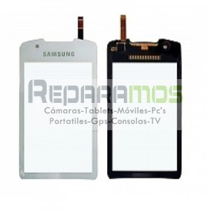 Touchscreen para Samsung S5620 Onix, Monte (Blanco)