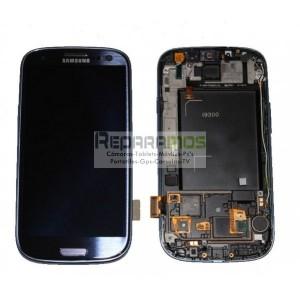 Pantalla digitalizadora negra con display de Samsung Galaxy S3, SIII i9300