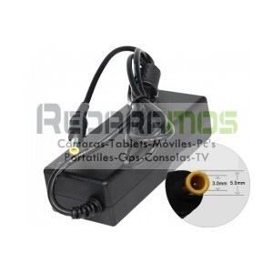 Cargador Packard Bell 19V 90W 5.5-2-5mm