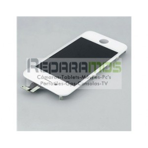 Pantalla LCD + Touchscreen para Apple iPhone 4 (Blanco)