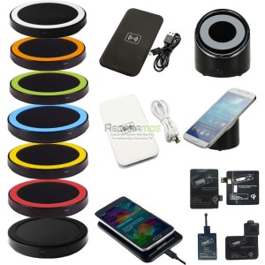 Nuevo Qi Wireless Power Pad Cargador inalambrico Para Samsung