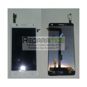 Pantalla Lcd display + Tactil Bq Aquaris E5 HD Negra