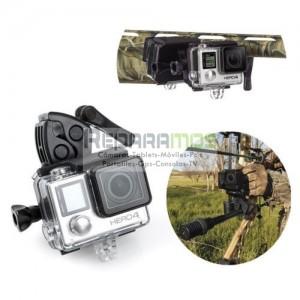 Flotador esponja + 3M Adesivo para Gopro Hero 4 3+ 3 2 1 o cámaras deportivas