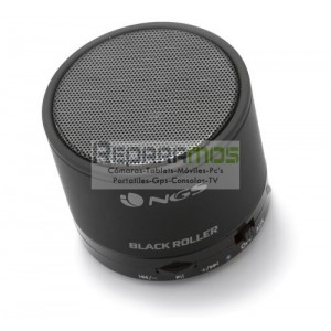 NGS White Roller - Altavoces Bluetooth 1.0