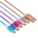 CABLE ALUMINIO ALTA CALIDAD IPHONE 5-6