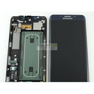 Cambio reparación Pantalla LCD + Tactil Original Samsung Galaxy S6 Edge SM-G925F - Azul