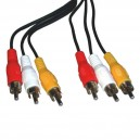 3RCA to 3RCA Cable Audio Cable/Video Cable/RCA Plug /AV cable/RCA cable