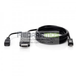 6 ft. Micro-USB to HDMI-MHL Adaptador