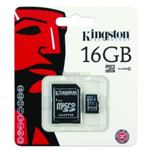 TARJETA MEMORIA SD KINGSTON 8GB