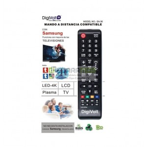 MANDO COMPATIBLE TV SAMSUNG MARCA DIGIVOLT