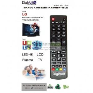 MANDO COMPATIBLE TV LG MARCA DIGIVOLT
